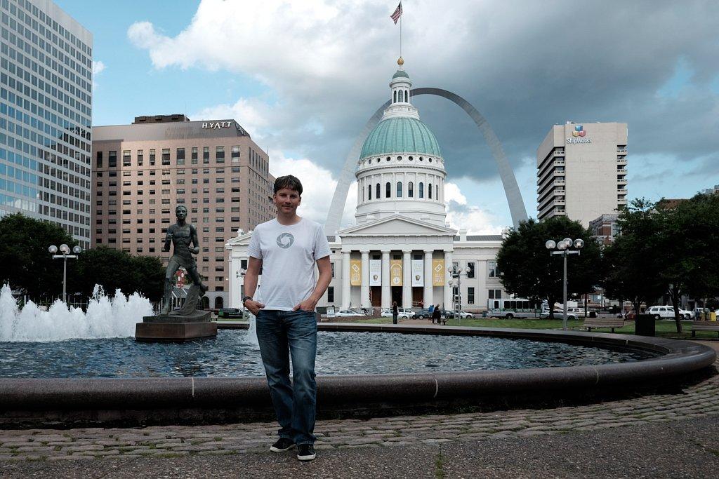 downtown St.Louis